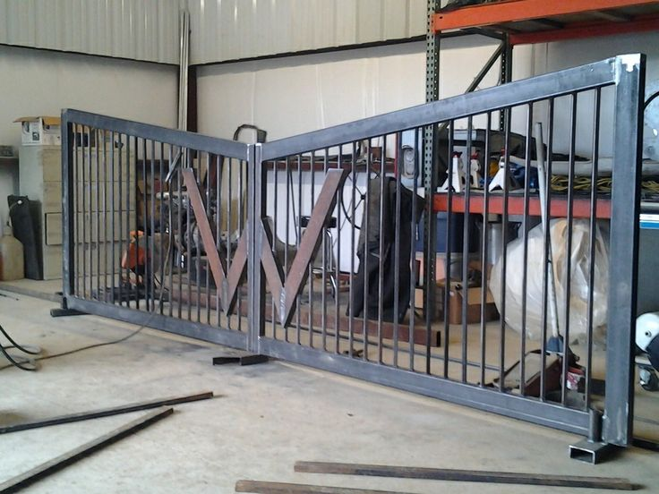 how to build a square tubing gate