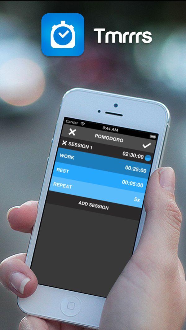 Tmrrrs App by Carlos Mas Salom, via Behance