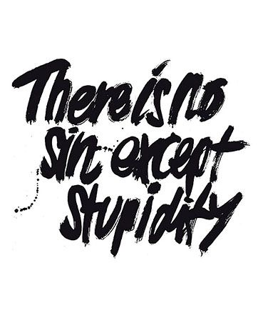 There is no sin except stupidity, Ulla Puggaard