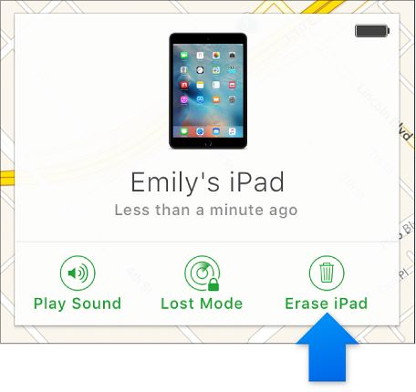 Erase a device in Find My iPhone on iCloud.com | Icloud ...