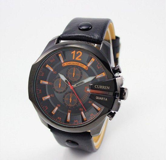 Pánské voděodolné hodinky CURREN černé – pánské hodinky Na tento produkt se vztahuje nejen zajímavá sleva, ale také poštovné zdarma! Využij této výhodné nabídky a ušetři na poštovném, stejně jako to udělalo již velké množství …
