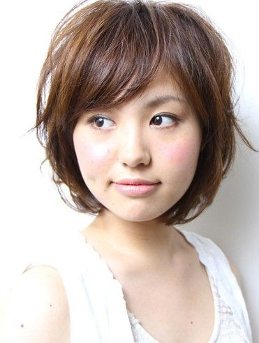 hairstyles for 2013 layered with choppy bangs | Short Japanese Hairstyle 2013 | Hairstyles Weekly