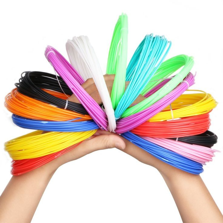 3D printer filament,Homecube 3D Pen Filament Refills ABS 1.75mm Pack of 12 Different Colors Each in 32.8 Foot Lengths Rapid Prototyping No Peculiar Smell