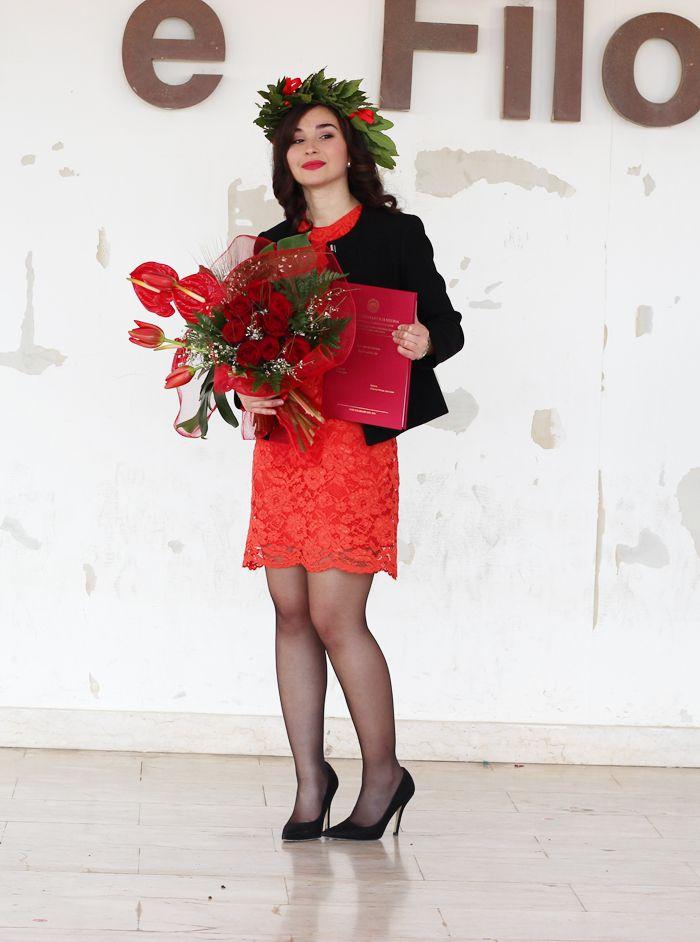 Sparkly Fashion: Outfit colorato per la Laurea