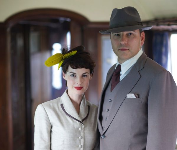 Casting announced for the new 'Tommy & Tuppence' series, 'Partners in Crime', coming to BBC One in late 2015. - David Walliams will be playing Tommy, accompanied by Jessica Raine as Tuppence.