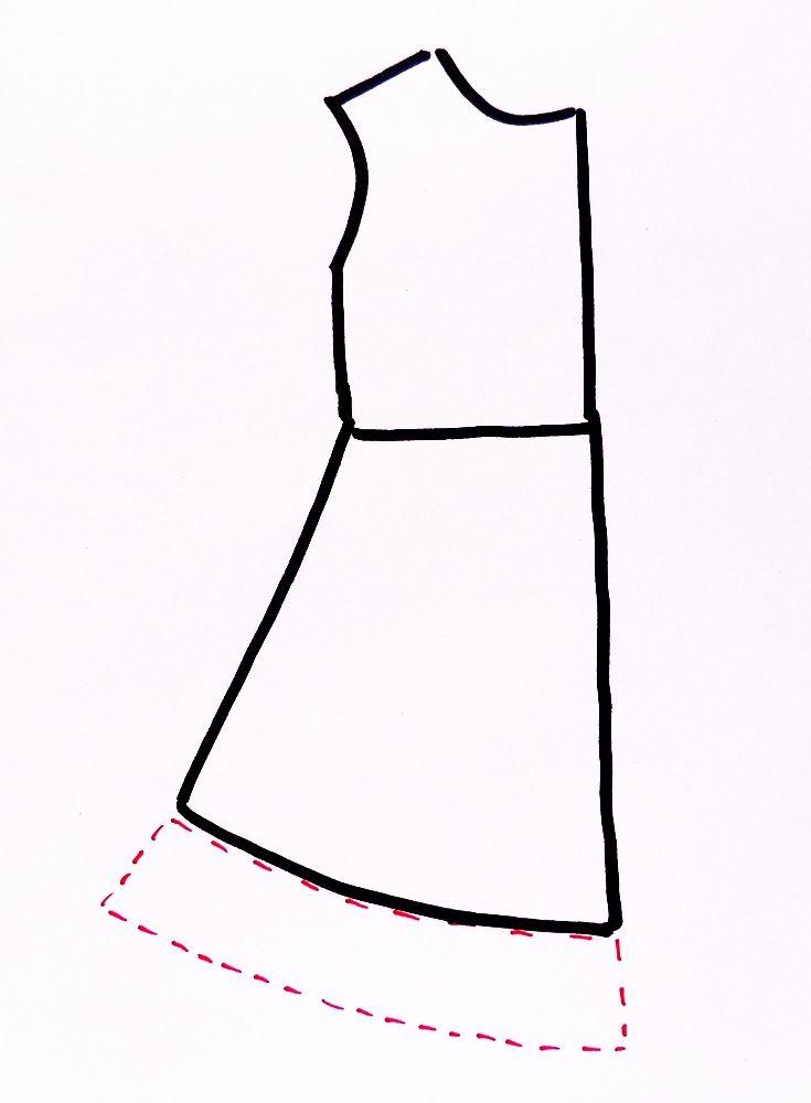 8 besten Sewing projects Bilder auf Pinterest | Kleider rock, Kleid ...