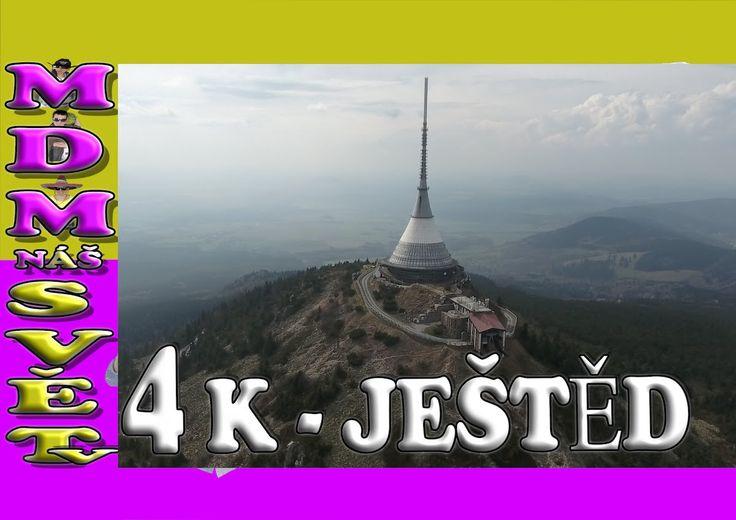 JEŠTĚD LIBEREC | FPV | 4K | DJI PHANTOM 4 V ČR | CZ
