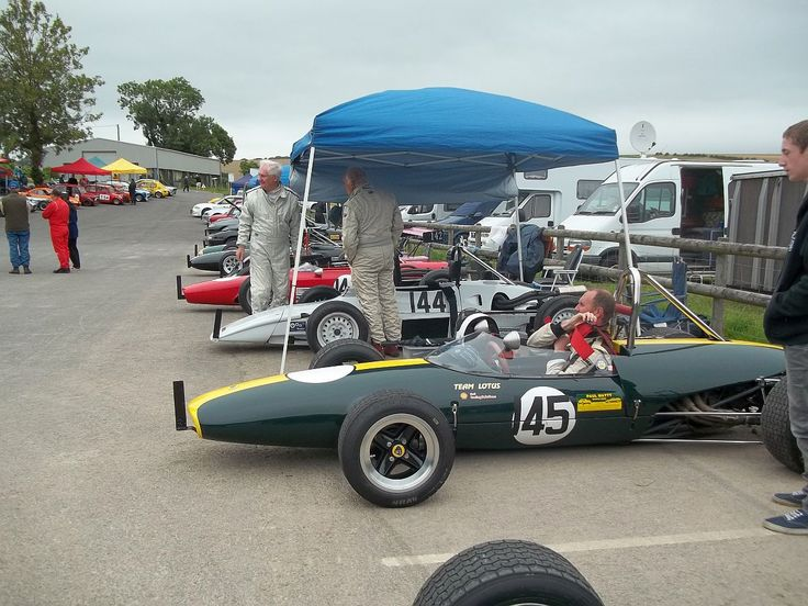 DC & Mike Turner regularly visit the British Hillclimb Championships event at Gurston Down, here in 2013