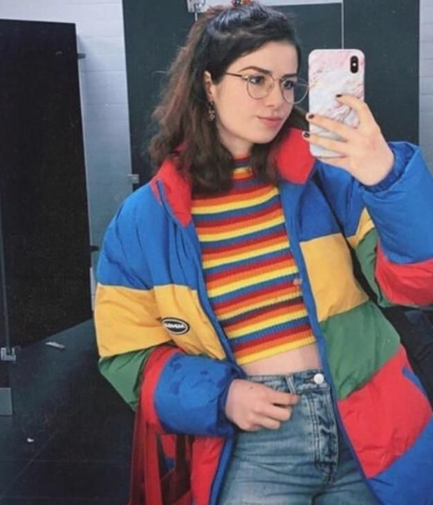 Aesthetic Outfits Grunge Aesthetic Outfits Vintage Aesthetic Outfits Summer Comfy Aesthetic Outfits Aesth In 2020 Colourful Outfits Hipster Style Outfits Retro Outfits
