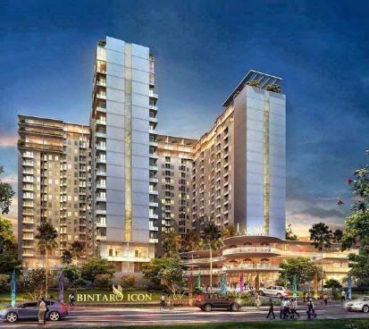 Tahun 2017, Dua Tower Bintaro Icon Akan Diserahterimakan #bintaroicon #apartemenbintaro