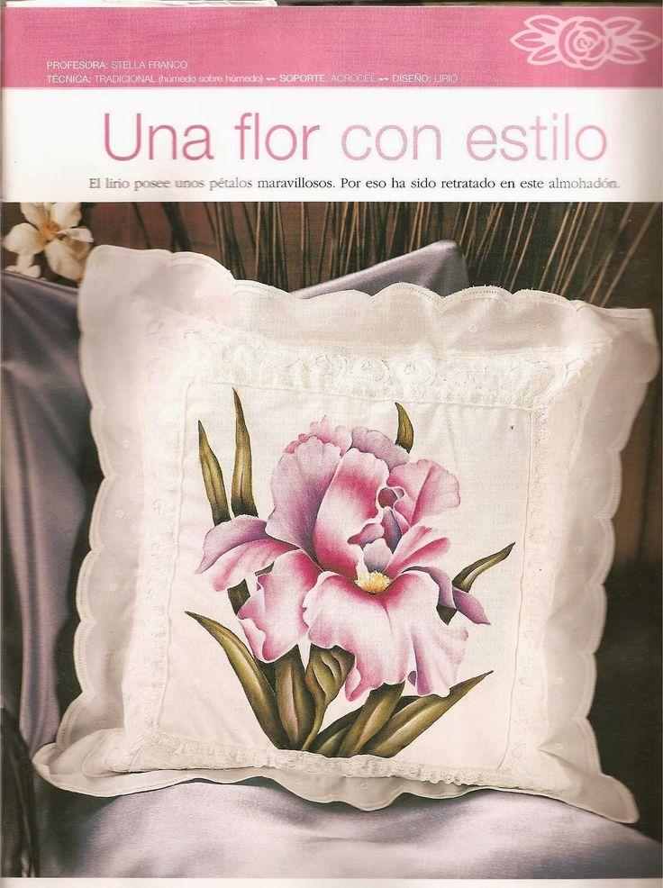 257 best PINTURA EN TELA COJINES images on Pinterest  Cushions