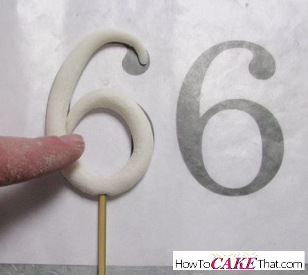 One edible decoration every cake decorator needs to know how to make is a gum paste or fondant stand up number topper! Number toppers are one of my most requested edible decoration pieces for...