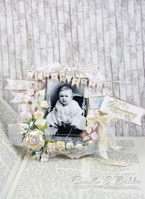 Vintage Baby card - Camilla Støen Bakke - Stempelglede :: Design Team Blog