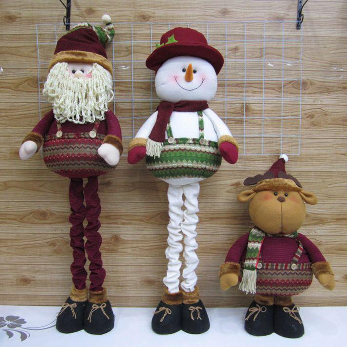 Santa,snowman and reinder