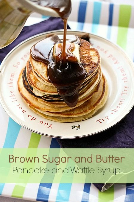 Brown Sugar and Butter Pancake and Waffle Syrup from @Christina Childress Childress Childress Childress & Lindamood || Foodie with Family