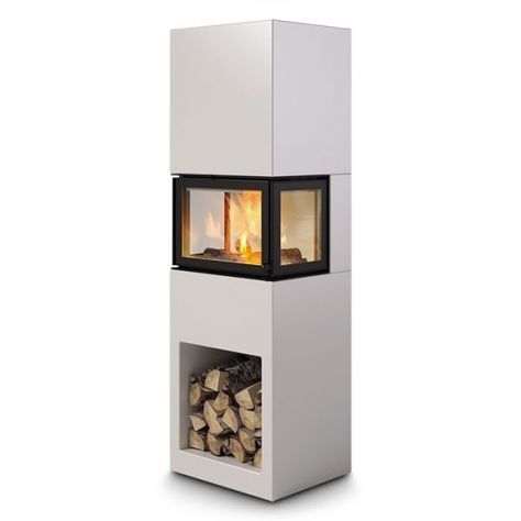 Nordpeis Kaminbausatz PRAHA 5,4 kW 3-seitiges Glas