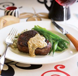 Filet Steaks with an Irish Whisky & Cream Pan Sauce