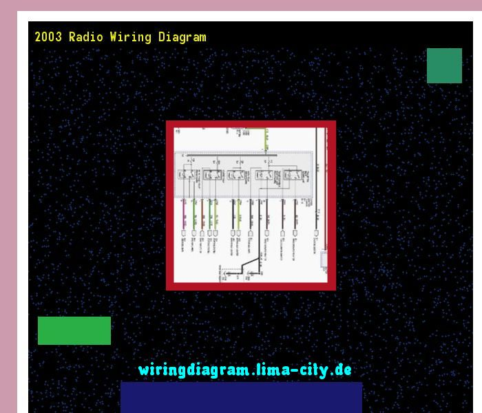 2003 radio wiring diagram. Wiring Diagram 18217. Amazing