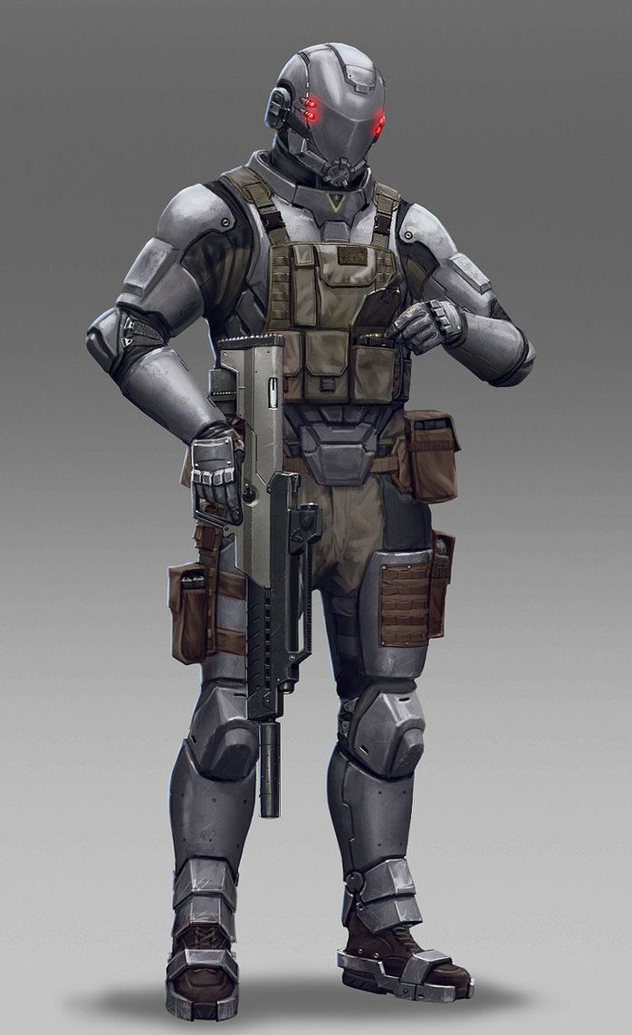 Soldier by Hokunin on DeviantArt