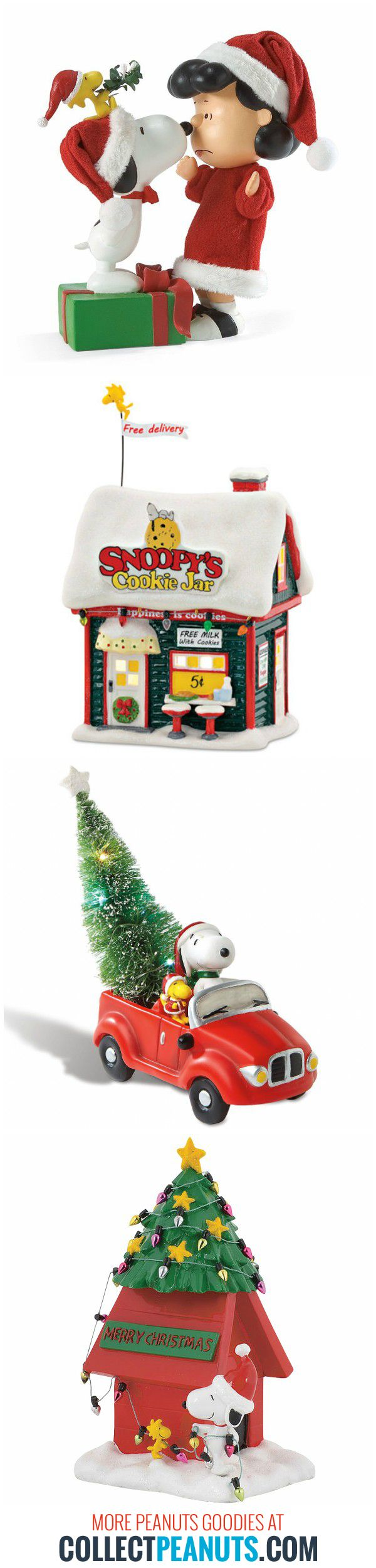 Are you dreaming of a Peanuts Christmas? Find Christmas goodies to decorate your home and spread the Snoopy Christmas cheer! Get started at CollectPeanuts.com.