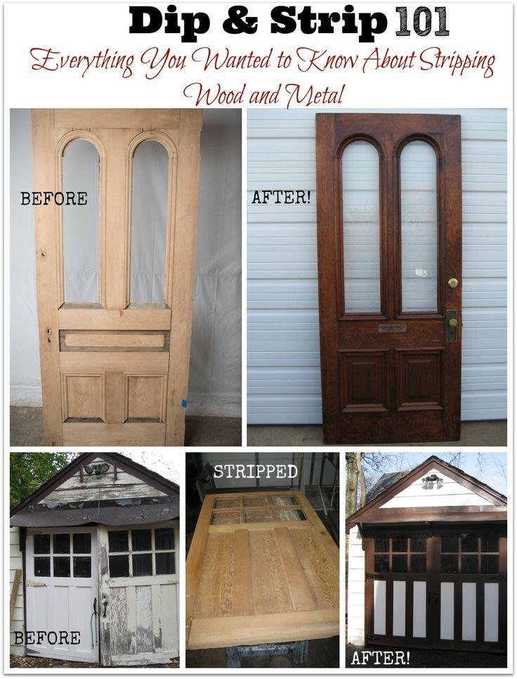 """Dip and Strip 101: Everything You Wanted to Know About Stripping Wood or Metal. Sometimes you don't have the """"know-how"""" or the time (or patience!) to strip wood and metal yourself. Read what a professional paint stripper told me in this interview about stripping your old furniture and metals (wrought iron, gliders, etc.). Very eye-opening tell all about using professional chemical strippers! (Over 400 DIY projects and articles on Thrift Diving!)"""