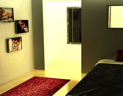 """Check out new work on my @Behance portfolio: """"Room1 3D"""" http://be.net/gallery/55557453/Room1-3D"""
