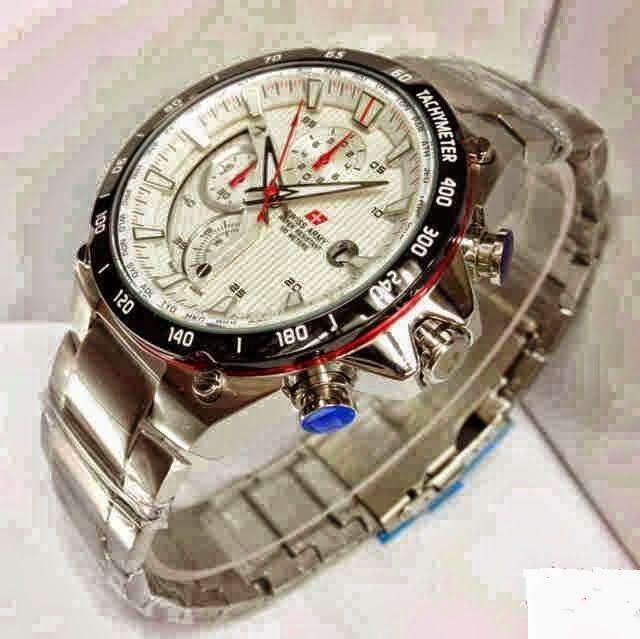 Jam Tangan Swiss Army 8692 Silver White / RP 780,000 | BB : 21F3BA2F | SMS :083878312537