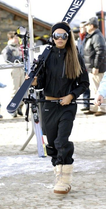 marvelous ski outfit black jacket 13