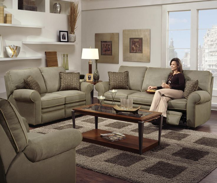 Cosmopolitan Transitional Power Reclining Loveseat