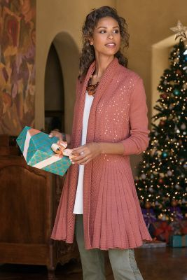 Suzette Sequin Cardi from Soft Surroundings