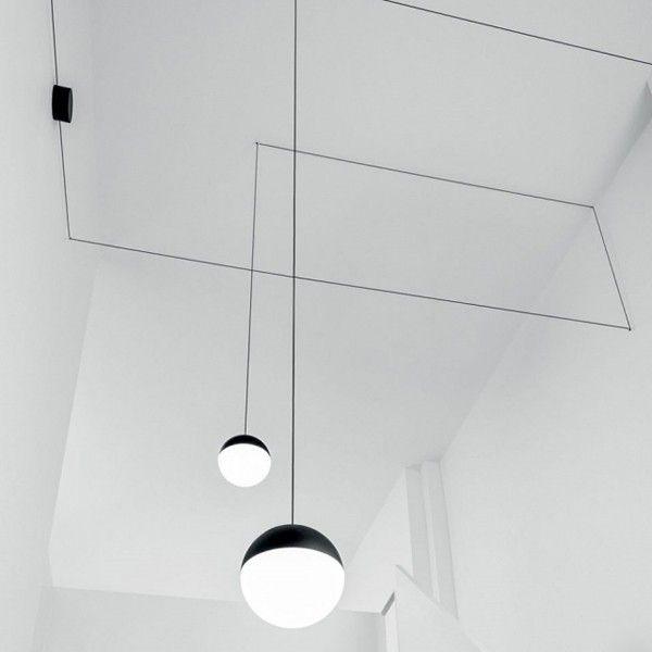 Flos String Lights Sphere hanglamp LED | gaaf voor hoge hal of boven trap| €430-490