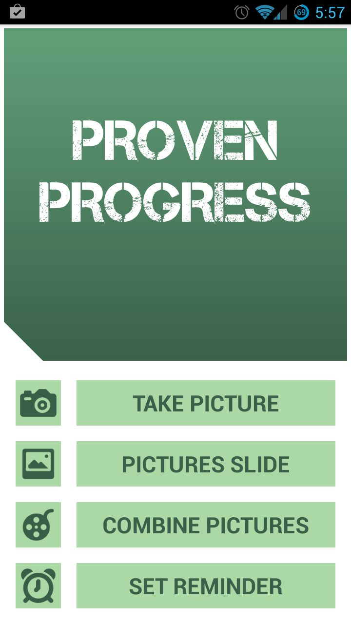 Proven Progress app : Capture and track  your workout progress pictures. Best motivation for working out https://www.youtube.com/watch?v=mPEJVuDhhwY