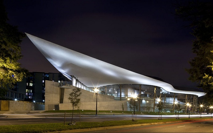 Arena Stage, Washington, DC; designed by Bing Thom Architects    http://www.bingthomarchitects.com