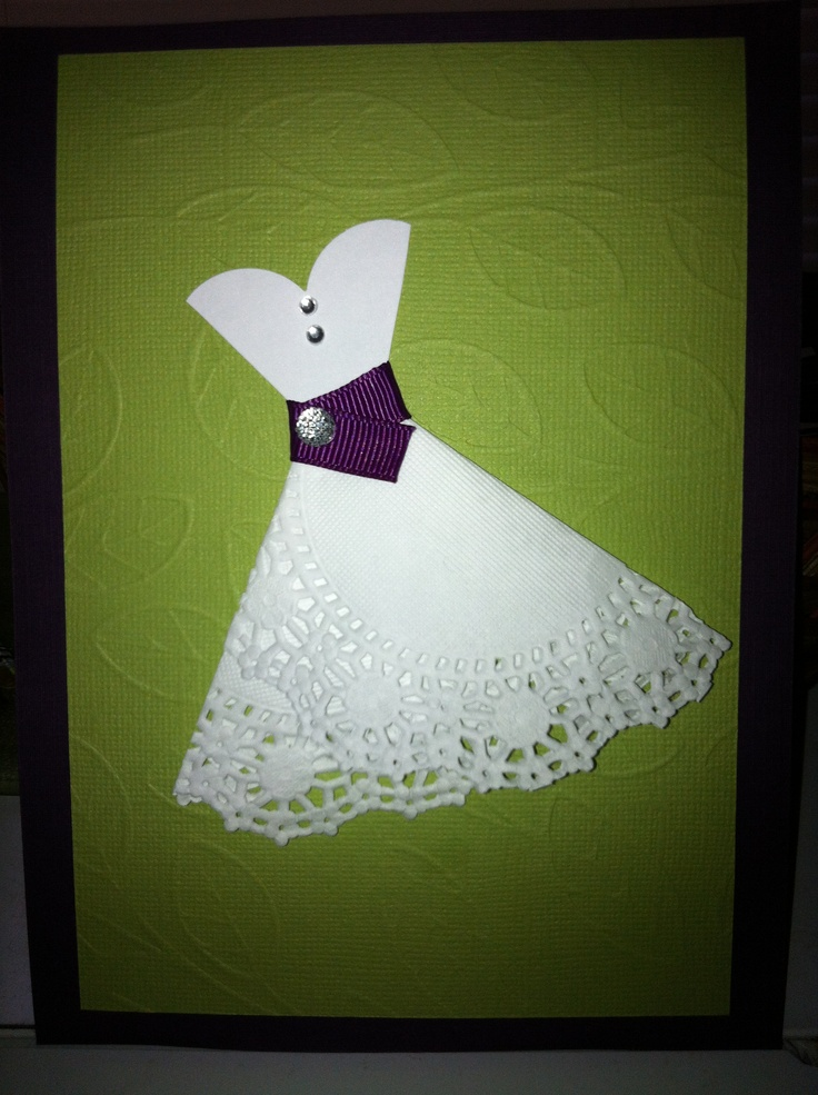 Bridal shower invitation for my best friend. Purple and chartreuse ...