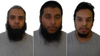 Three men on trial are known terrorists  BBC News
