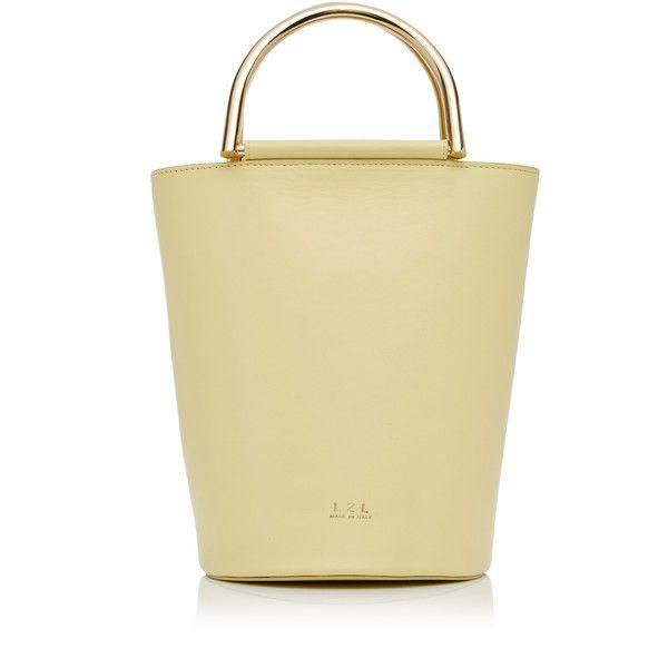 Bucket Bag | Moda Operandi (20.008.240 VND) ❤ liked on Polyvore featuring bags, handbags, shoulder bags, beige handbags, top handle handbags, beige purse, beige shoulder bag and top handle purse