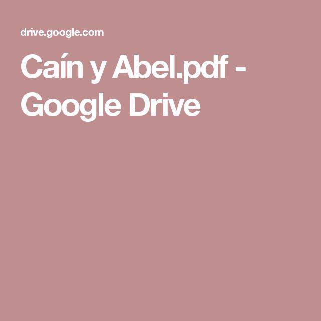 Caín y Abel.pdf - Google Drive