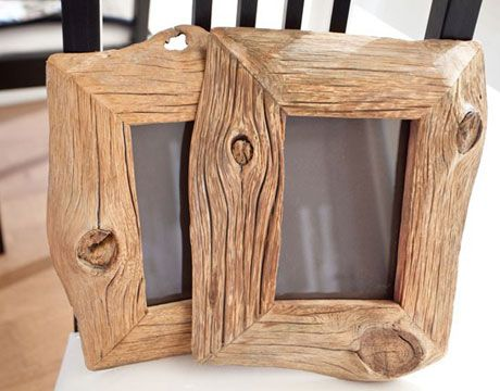 Great idea for picture frames or mini chalk boards could Reusable wood