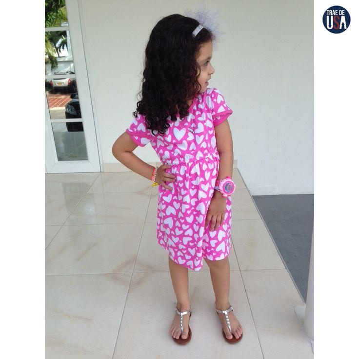 Casual para celebrar Amor & Amistad ❤️ #traedeusa #facilitatuscompras #compraenUSA #recibeenCOL #ropa #zapatos #outfit #niñas #calidad #buenprecio #SofíaCasas #clientesfelices #barranquilla  Visita: http://www.traedeusa.com.co/-como-funciona