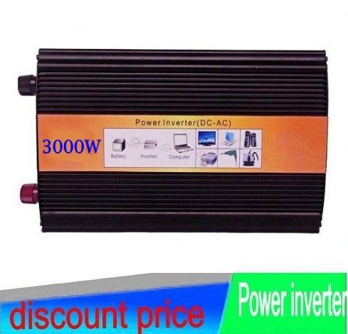 3000W de onda sinusoidal pura convertidor 3000W Pure 3000W 3000VA PURE SINE WAVE INVERTER 24V DC 220V AC 230V AC 6000W PEAKING #Affiliate