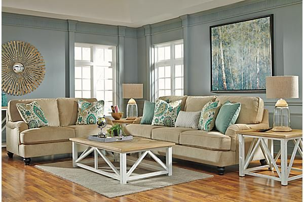 The Marshone Coffee Table from Ashley Furniture HomeStore (AFHS.com).