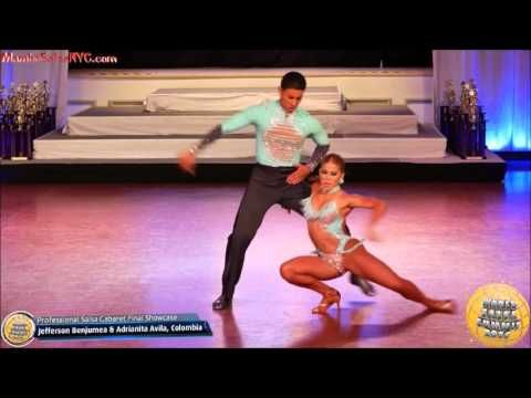 WSS16 Professional Salsa Cabaret World Champions Ricardo Vega & Karen  Forcano - YouTube