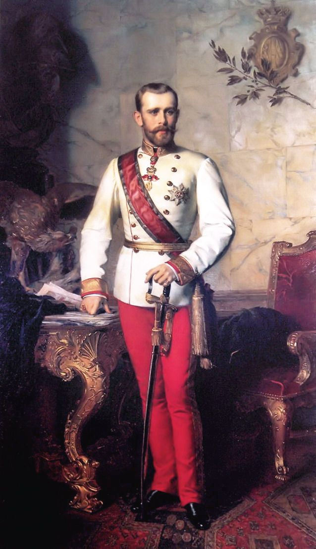 Rudolf (21 August 1858 – 30 January 1889), archduke of Austria and crown prince of Austria, Hungary and Bohemia, was the son and heir-apparent of Franz Joseph I, emperor of Austria, Hungary and Bohemia, and his wife Empress Elisabeth. His death, apparently suicide, along with his mistress, Baroness Mary Vetsera, at his Mayerling hunting lodge in 1889 made international headlines, fueled international conspiracy rumors and ultimately may have sealed the long-term fate of the Hapsburg dynasty.