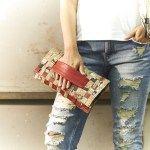 """""""15_Fifteen 01: Borsa realizzata intrecciando sacchetti di caffè #Upcycling #bag #artigianato #madeinitaly #accessori #riciclo"""