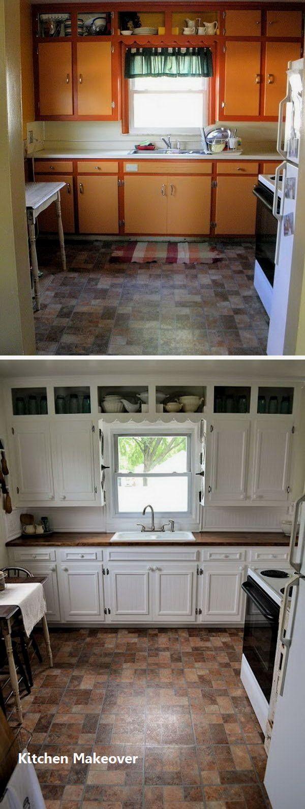 New Kitchen Makeover Ideas   Diy kitchen cabinets makeover ...
