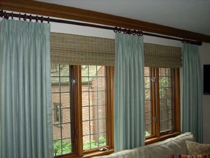 187 best images about cortinas de tecido e persianas on for Como hacer cortinas para sala