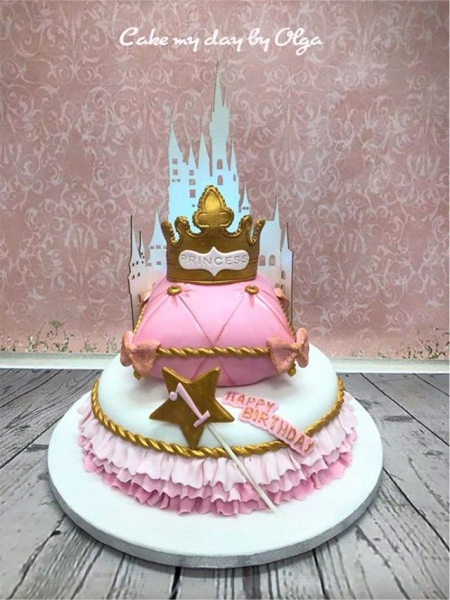 34 Brilliant Picture Of Princess 1St Birthday Cake First