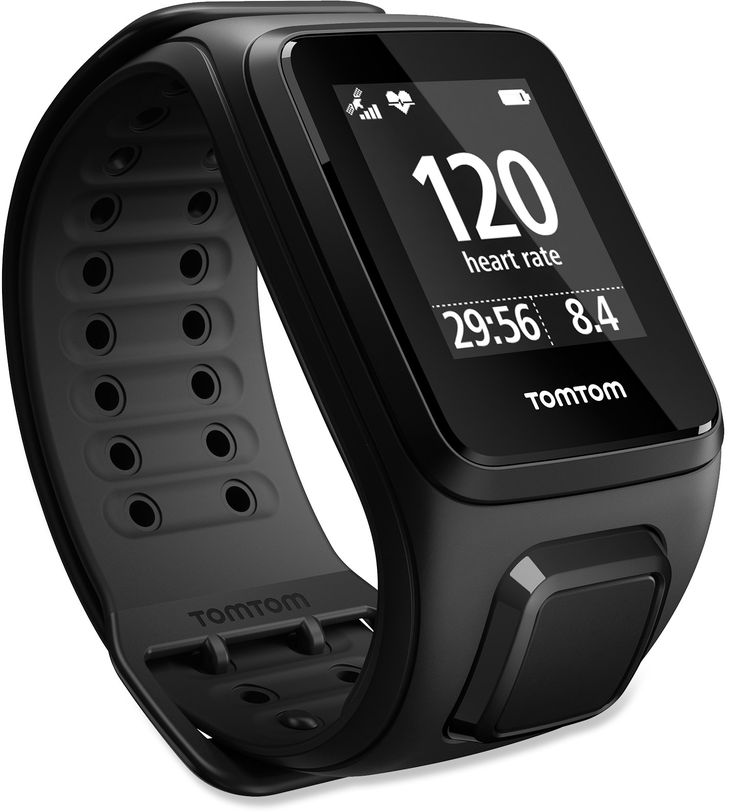 Tomtom Unisex Spark Cardio + Music Gps Fitness Watch