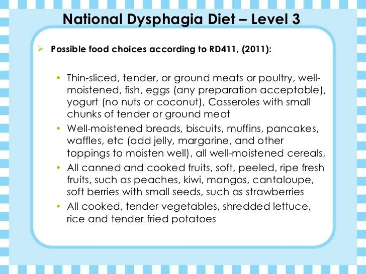 Kimberly Jones Dysphagia Diets presentation