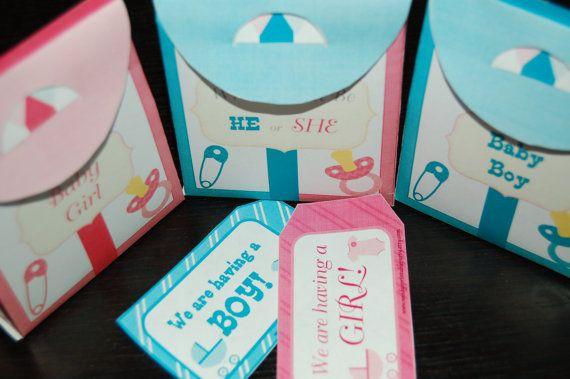 Printable Baby Shower / Gender Reveal by WendysPrintableParty, $5.00